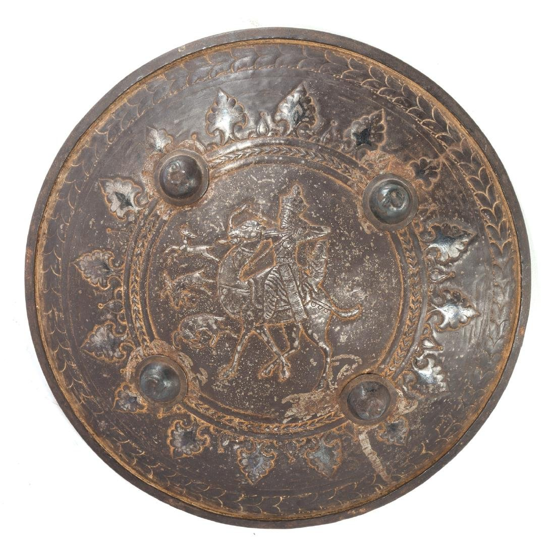 Middle Eastern style metal shield