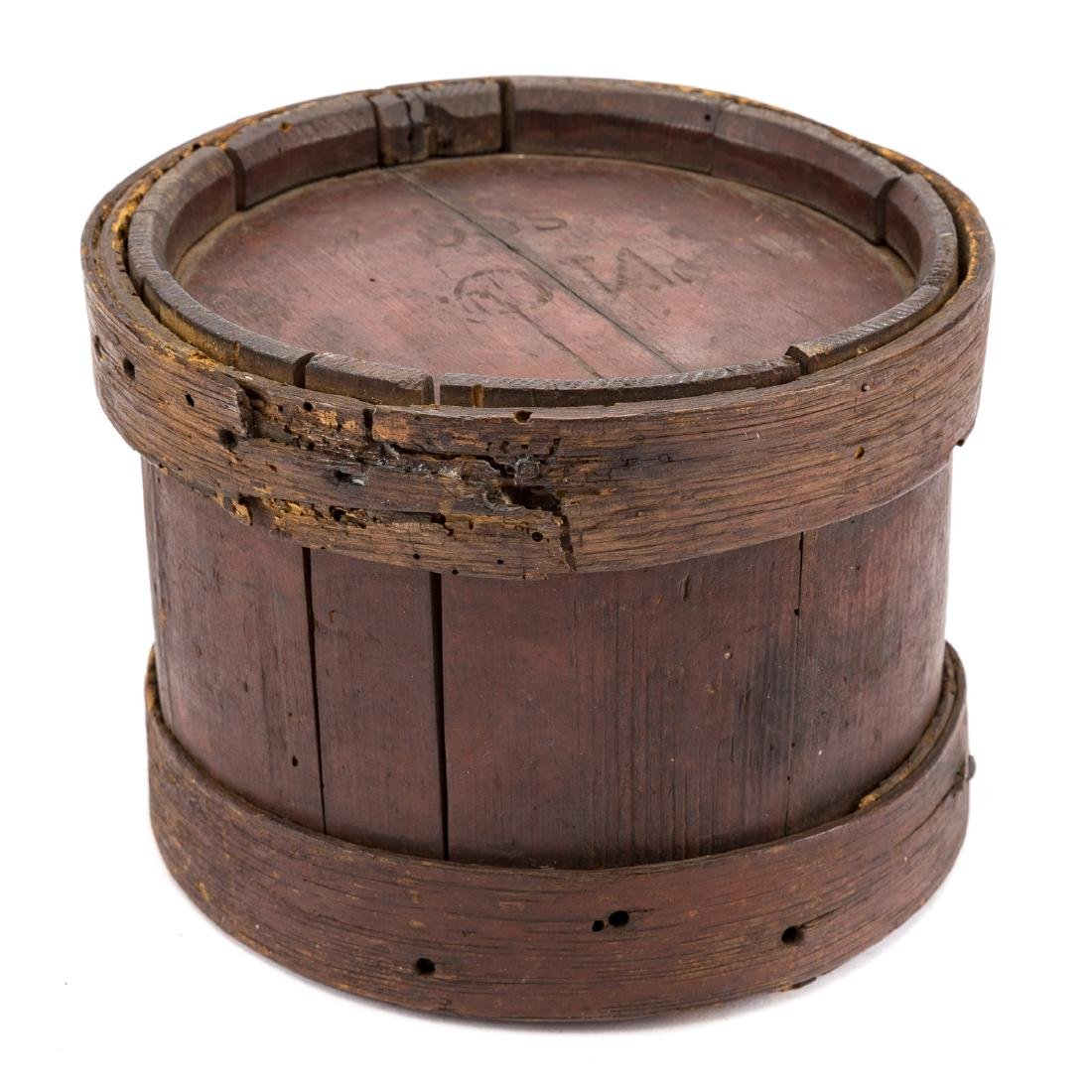 War of 1812 style wood canteen - 2