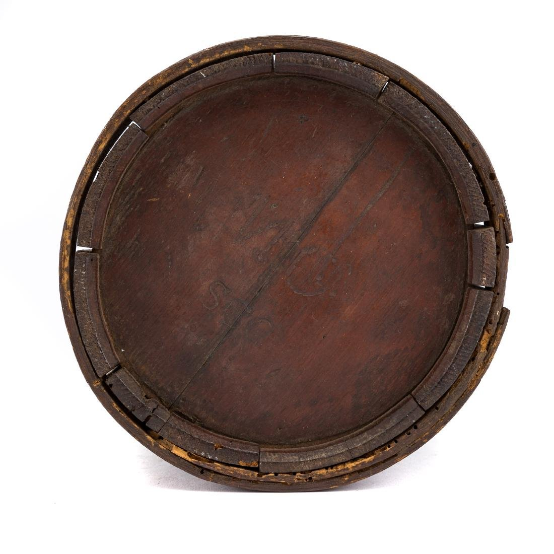 War of 1812 style wood canteen - 3
