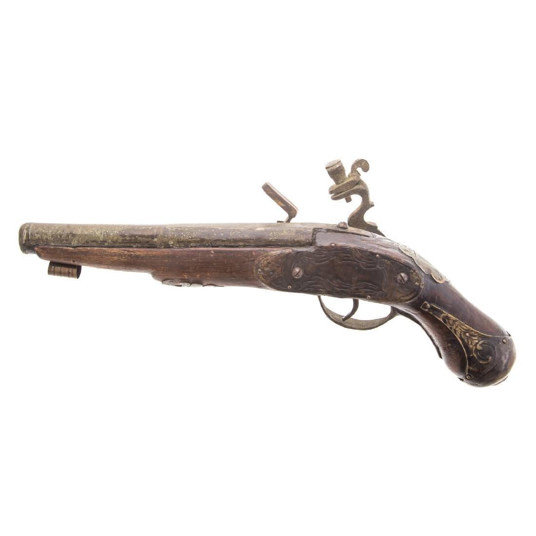 1700s Flintlock pistol - 4