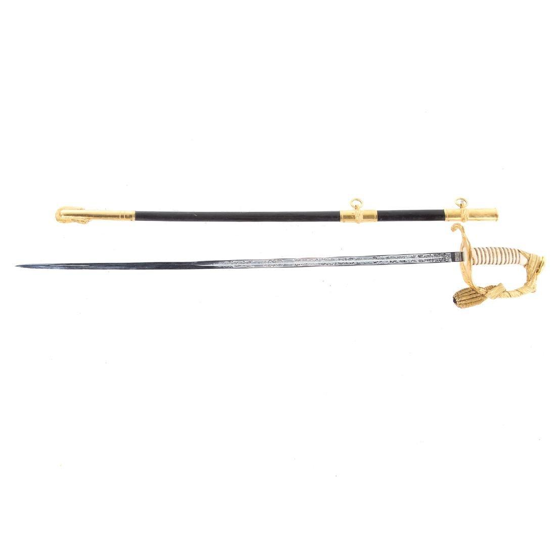 N.S. Meyer U.S. Navy Officer sword - 4