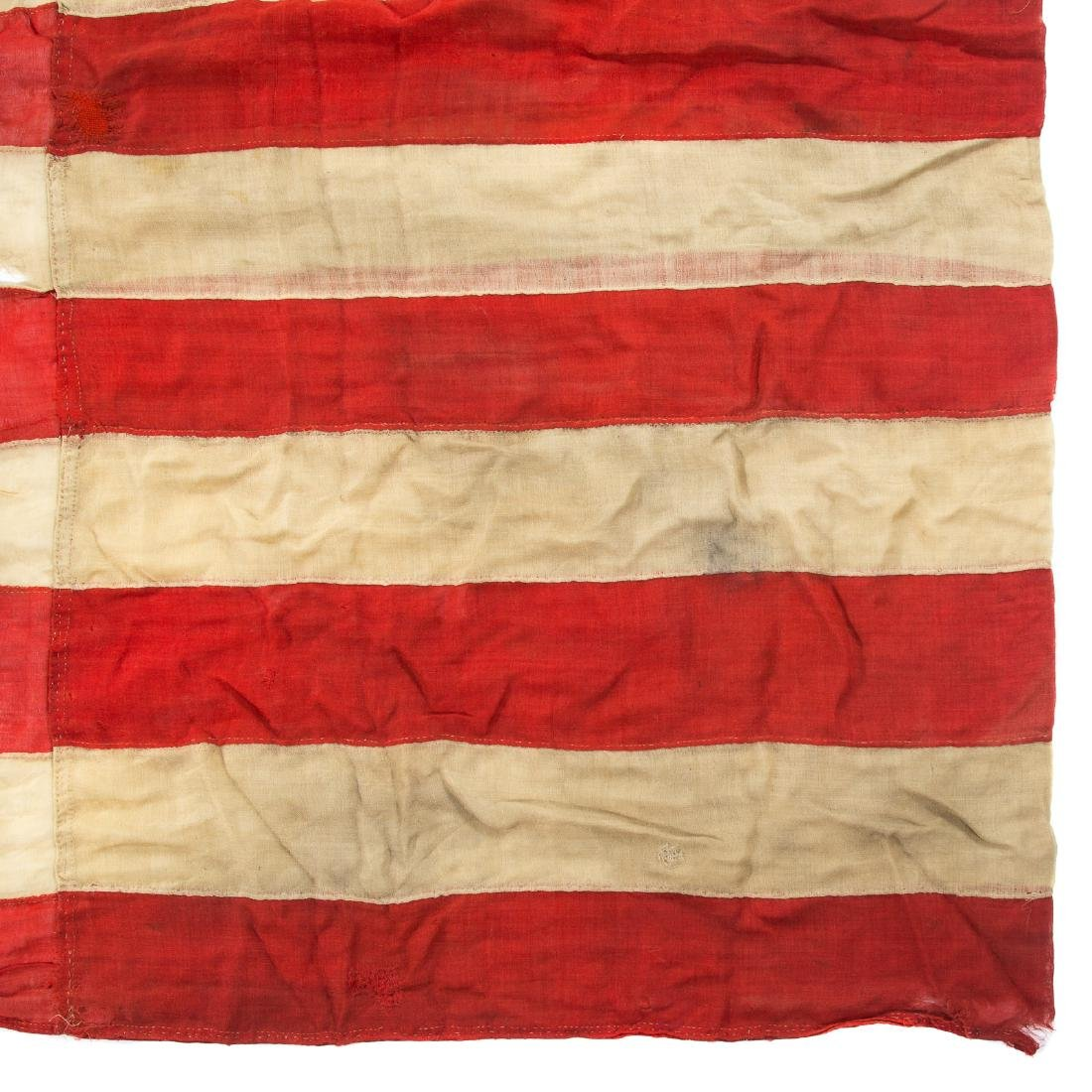 United States 34-star garrison flag - 10