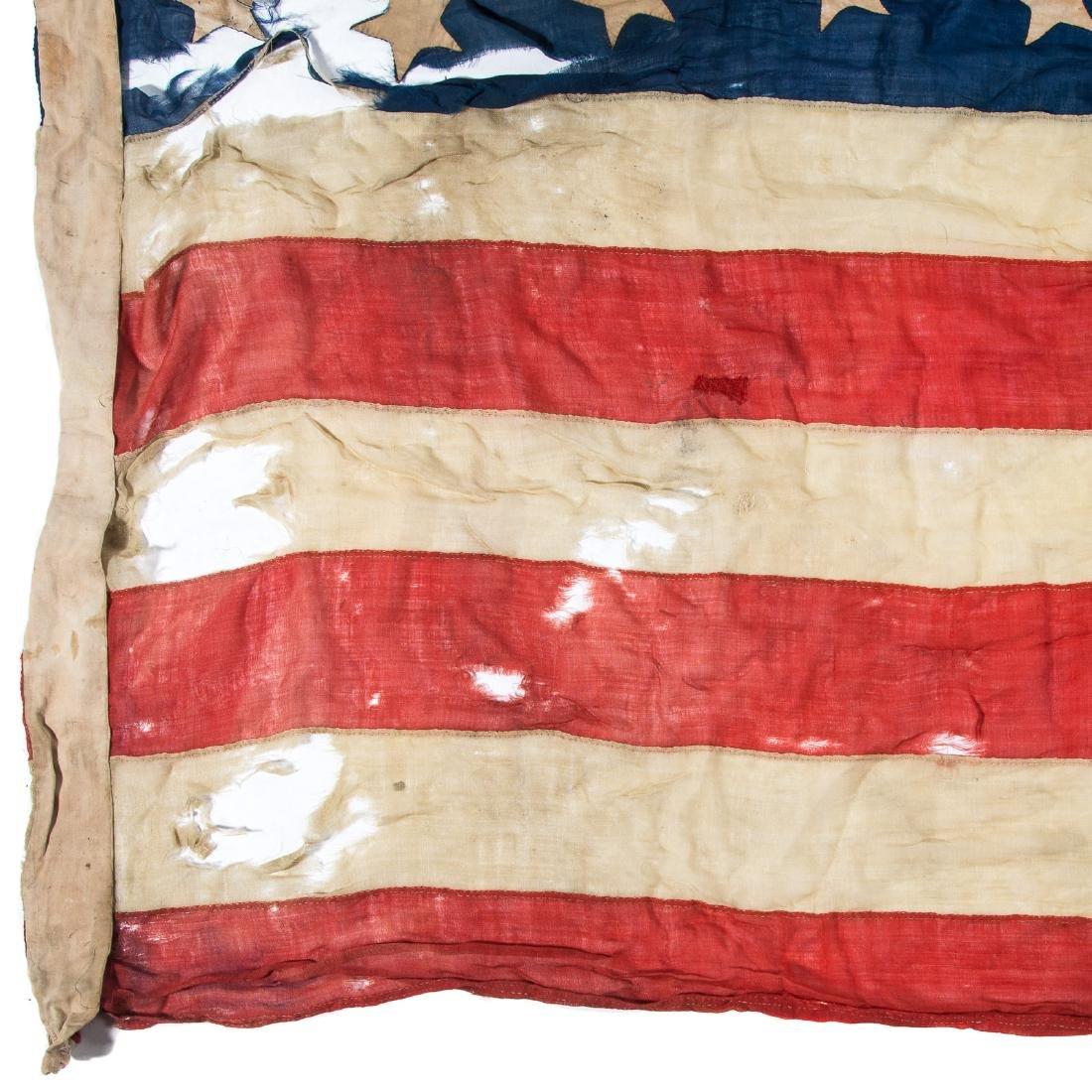 United States 34-star garrison flag - 3