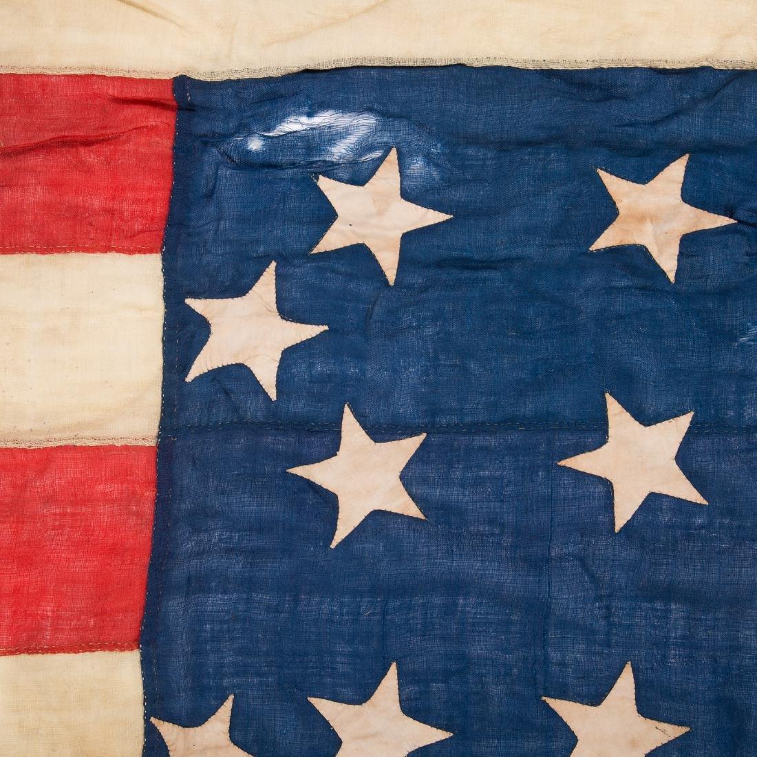 United States 34-star garrison flag - 8