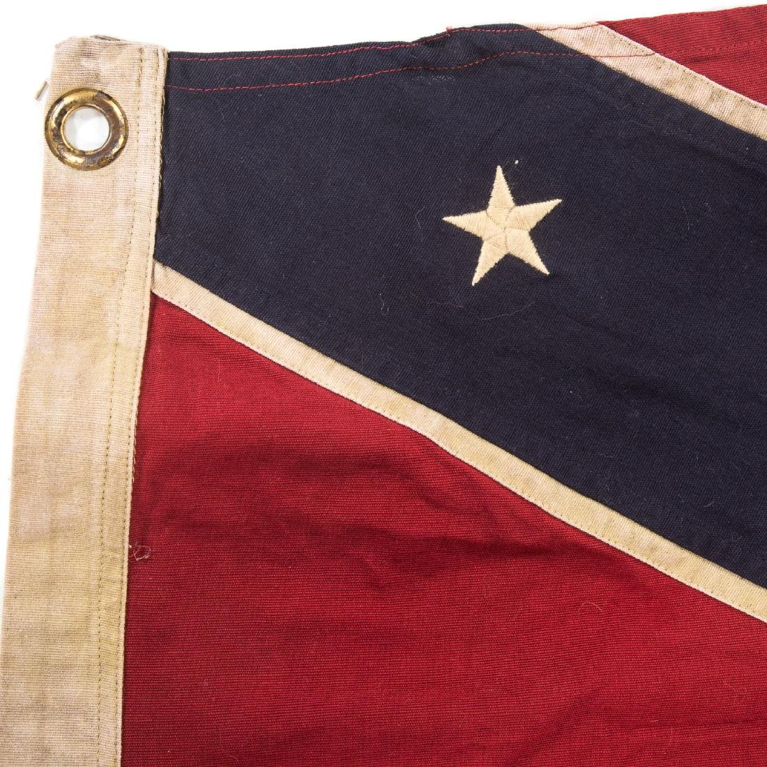 Confederate re-enactors battle flag - 3