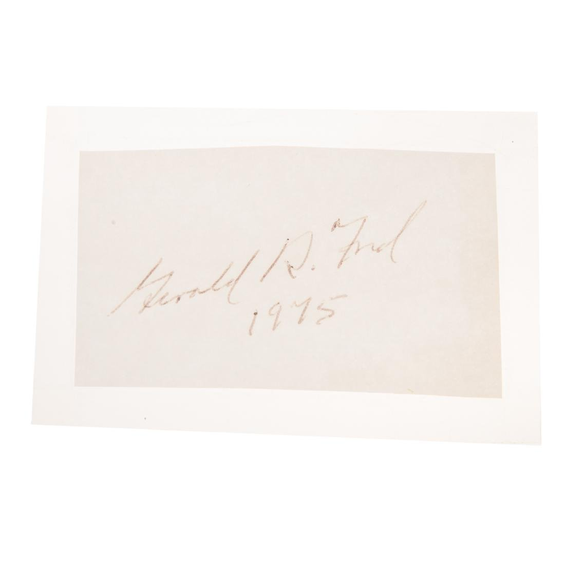 Eight former United States presidents signatures - 6