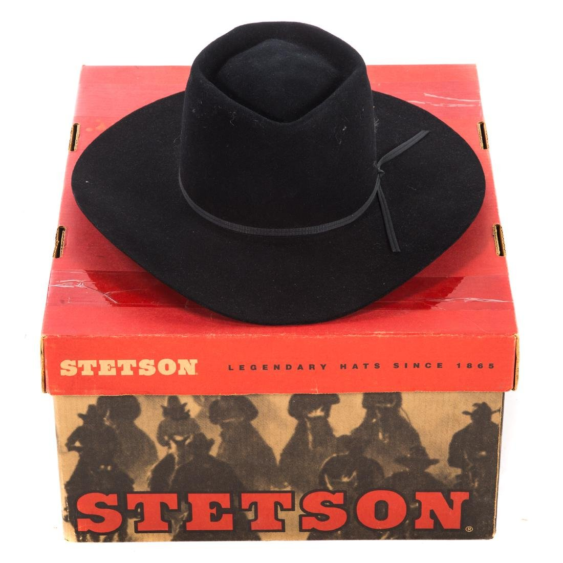 Stetson 4XXXX beaver cowboy hat