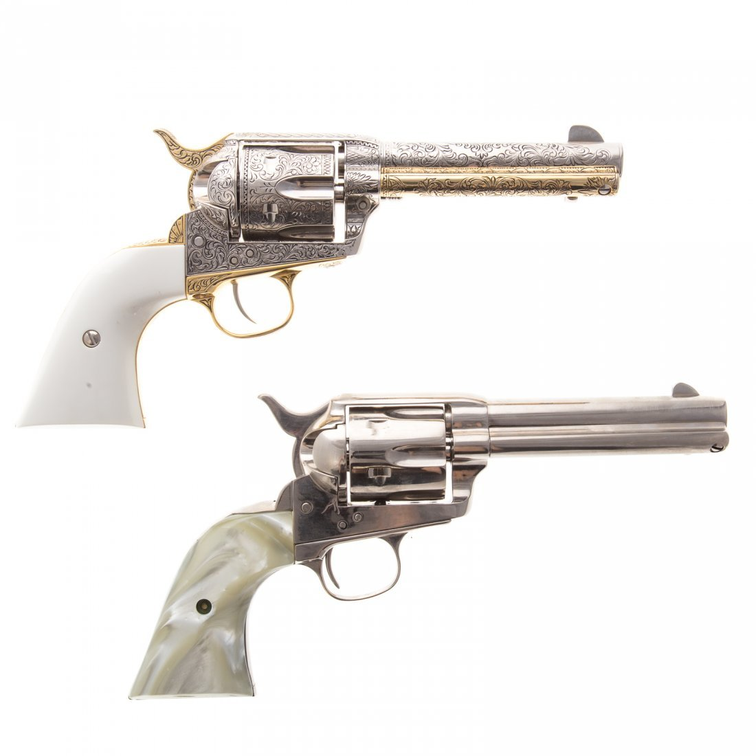 Two Collector's Classics old west prop guns