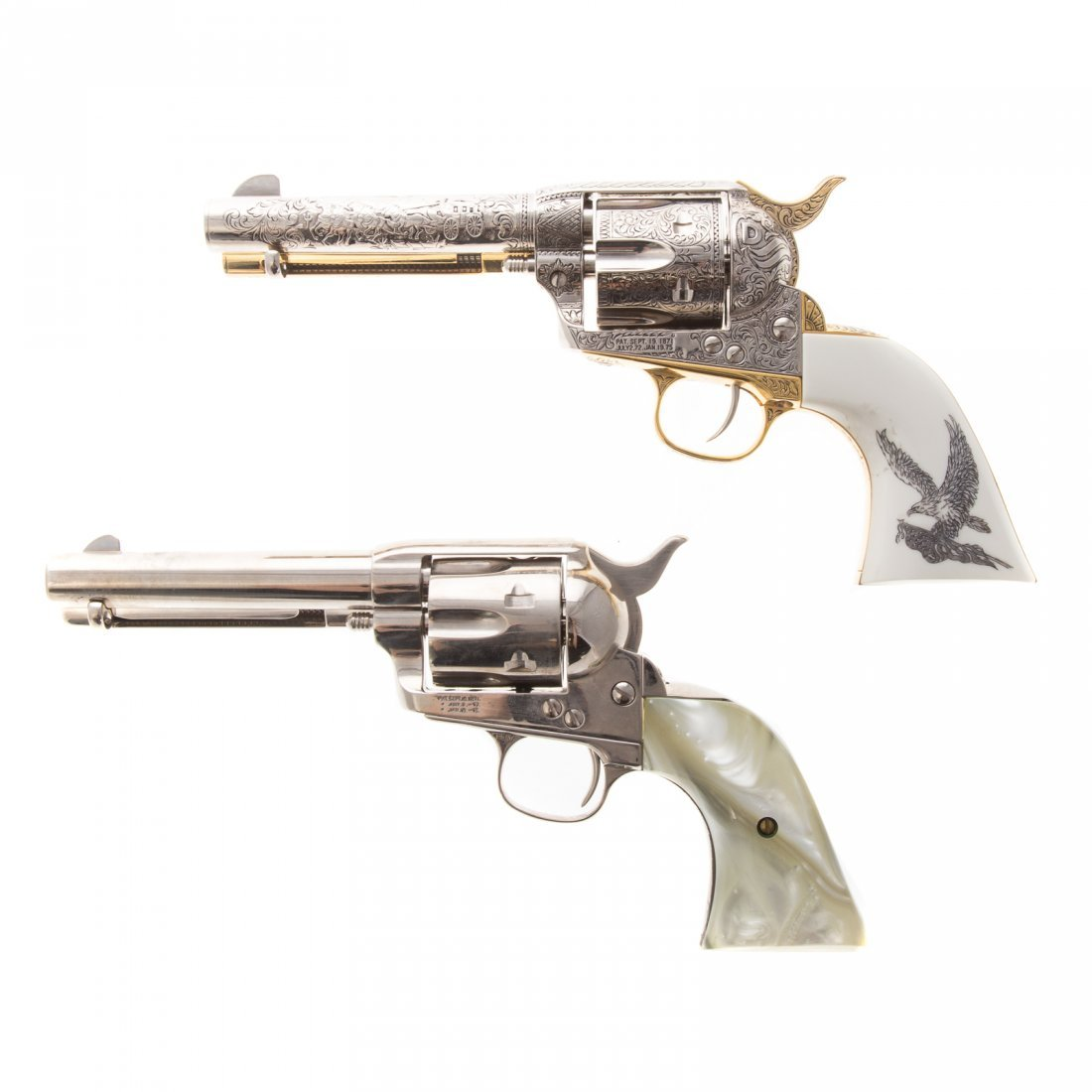 Two Collector's Classics old west prop guns - 2