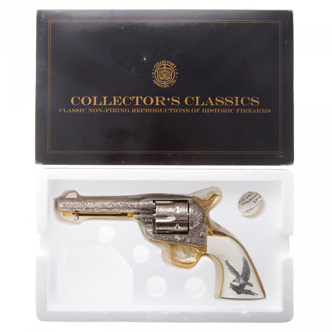 Two Collector's Classics old west prop guns - 6
