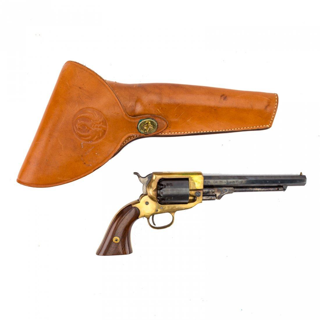 Three Italian repro. Civil War style revolvers - 2