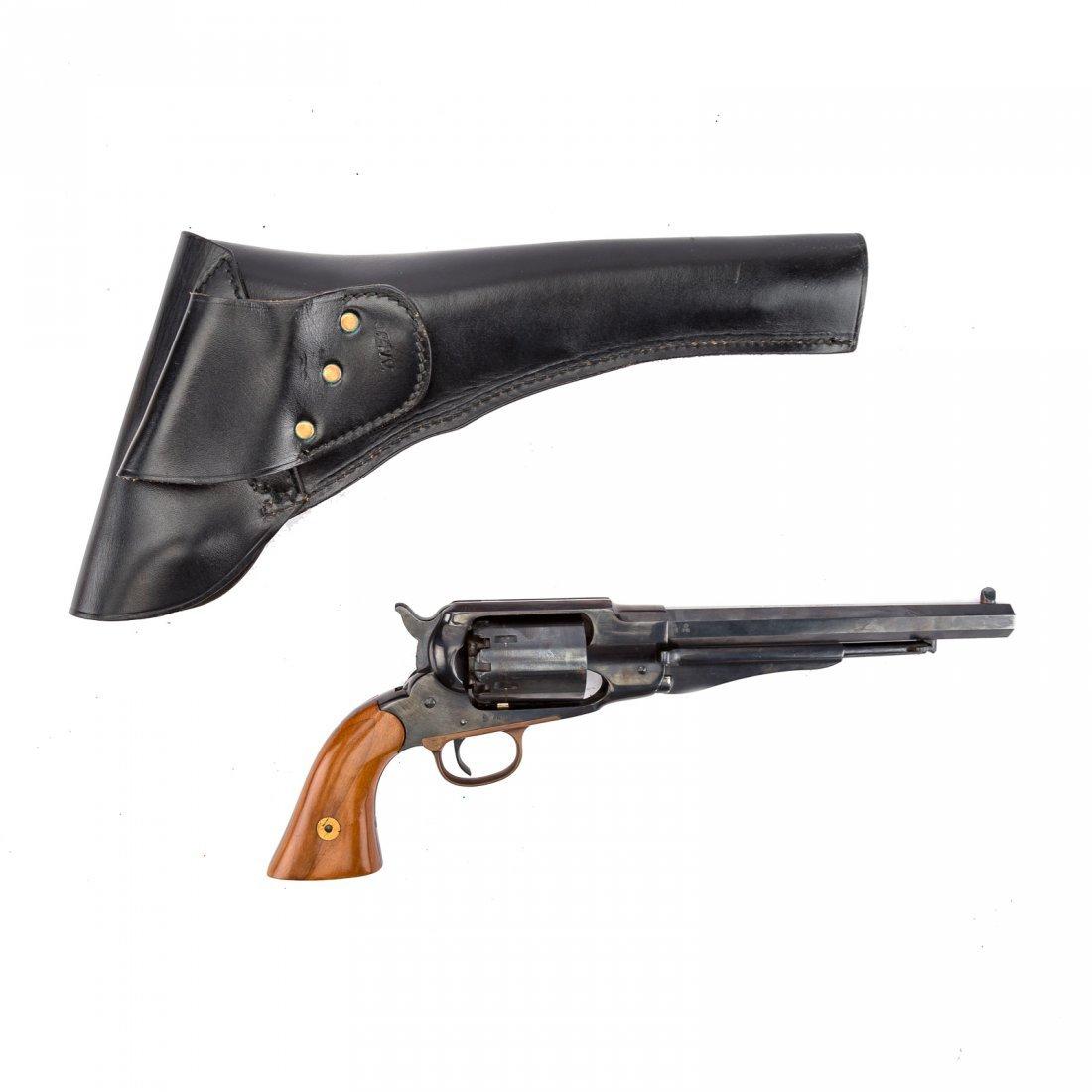 Three Italian repro. Civil War style revolvers - 3