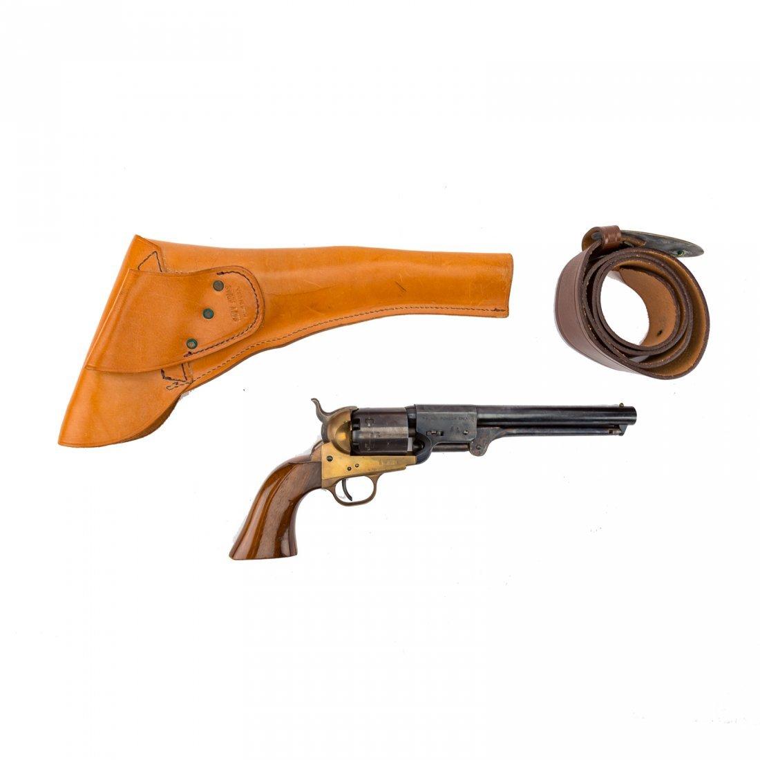 Three Italian repro. Civil War style revolvers - 4