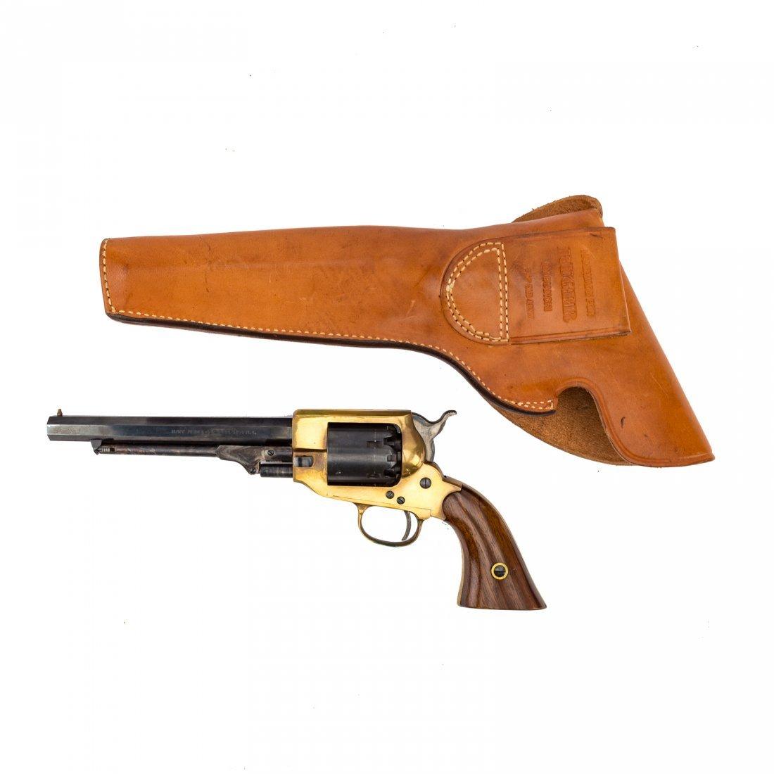 Three Italian repro. Civil War style revolvers - 5