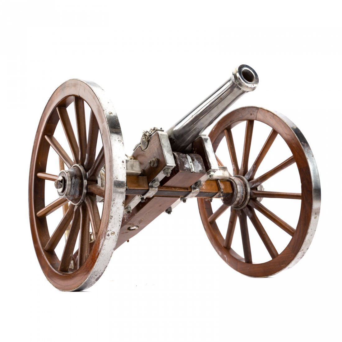 Miniature working replica of Dahlgren cannon