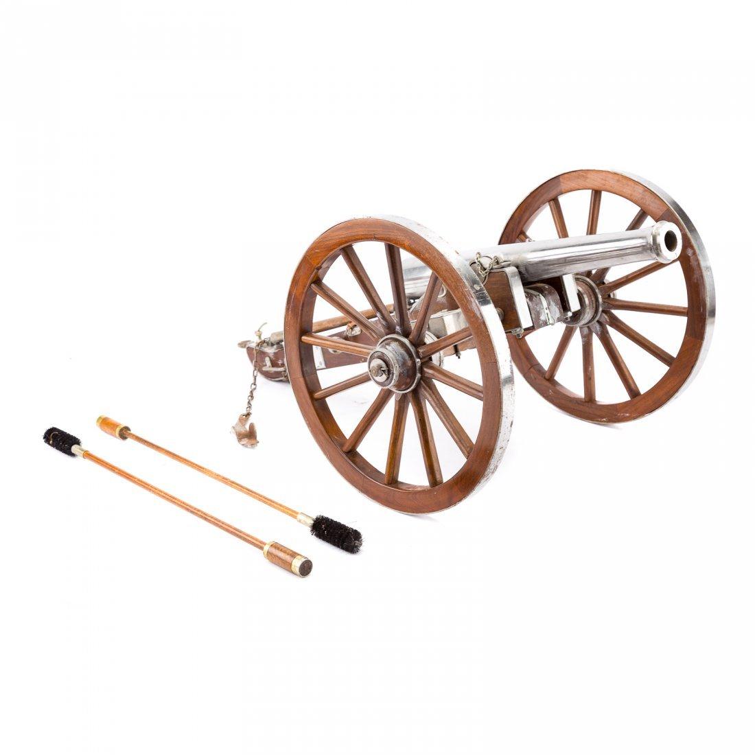 Miniature working replica of Dahlgren cannon - 2