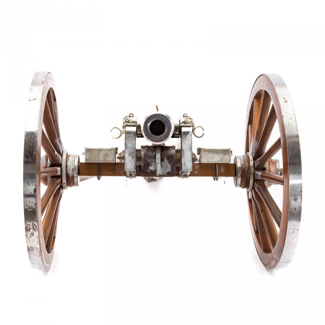 Miniature working replica of Dahlgren cannon - 3