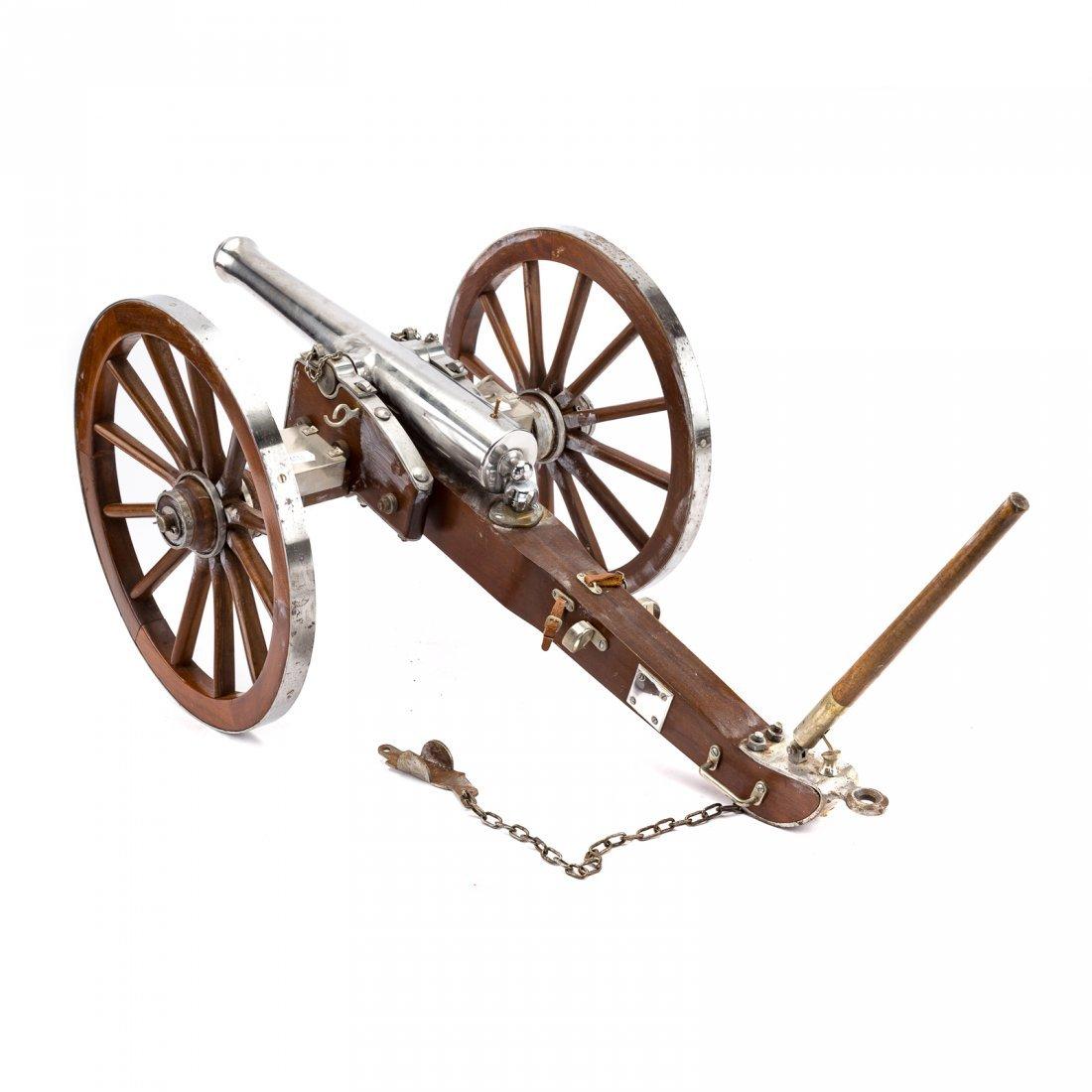 Miniature working replica of Dahlgren cannon - 4
