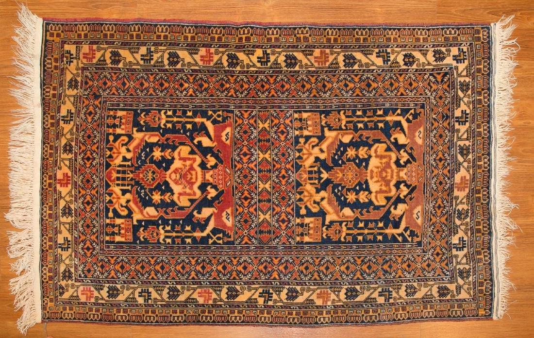 Persian Tribal rug, approx. 3 x 4.7