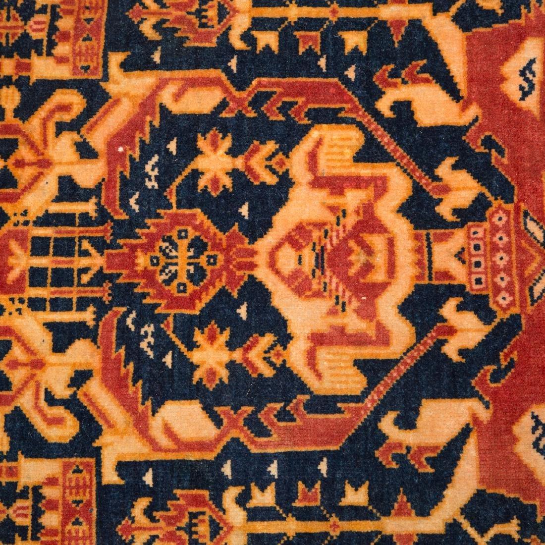 Persian Tribal rug, approx. 3 x 4.7 - 4