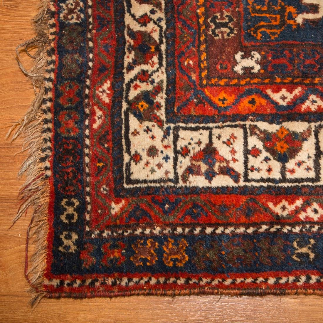 Antique Shiraz rug, approx. 7.8 x 10.4 - 2