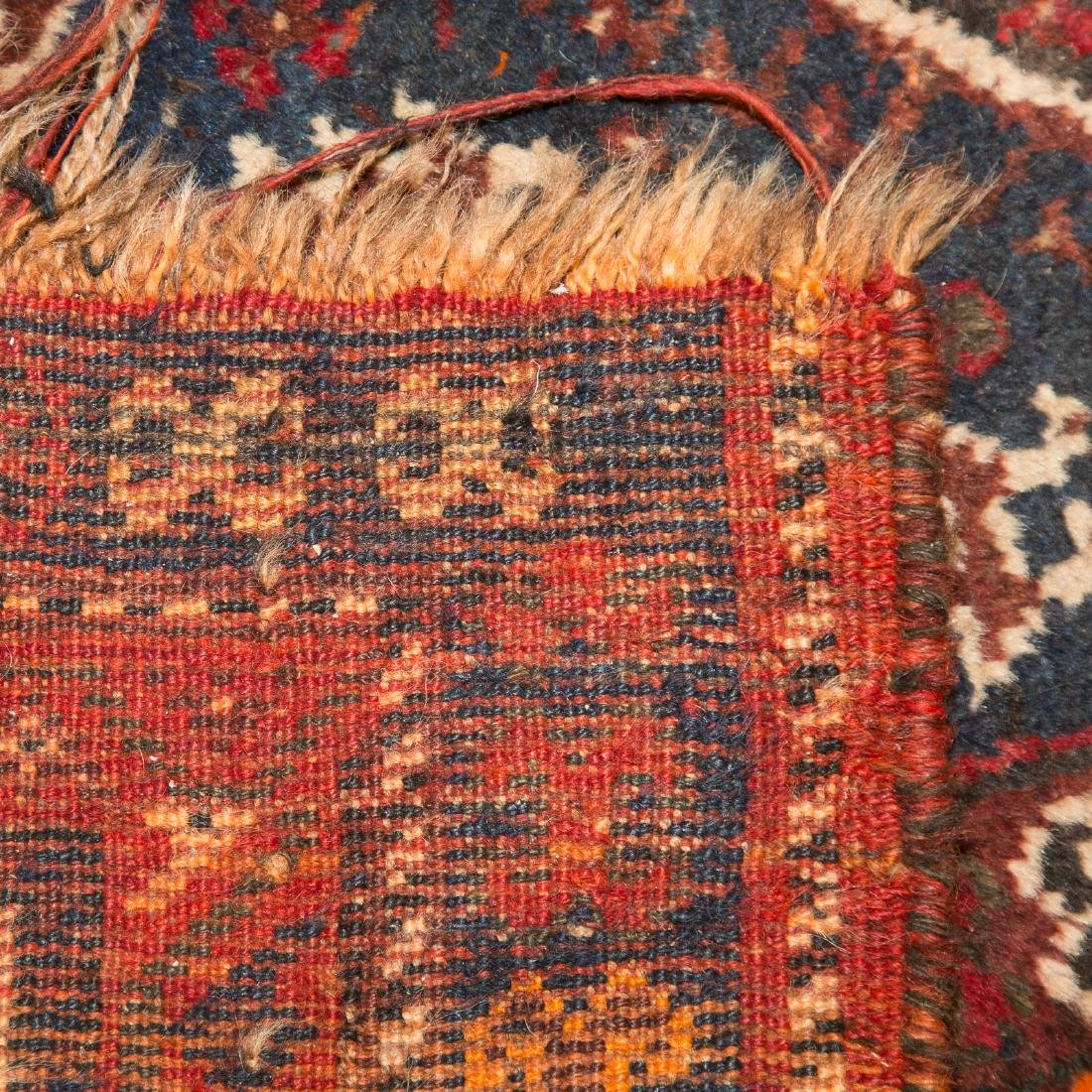 Antique Shiraz rug, approx. 7.8 x 10.4 - 3