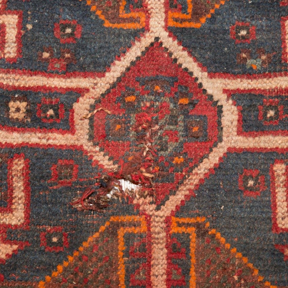 Antique Shiraz rug, approx. 7.8 x 10.4 - 4