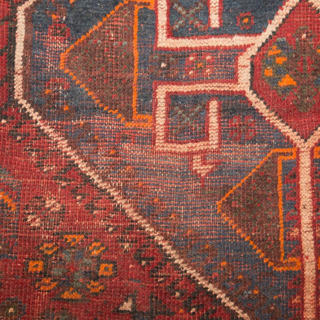 Antique Shiraz rug, approx. 7.8 x 10.4 - 5