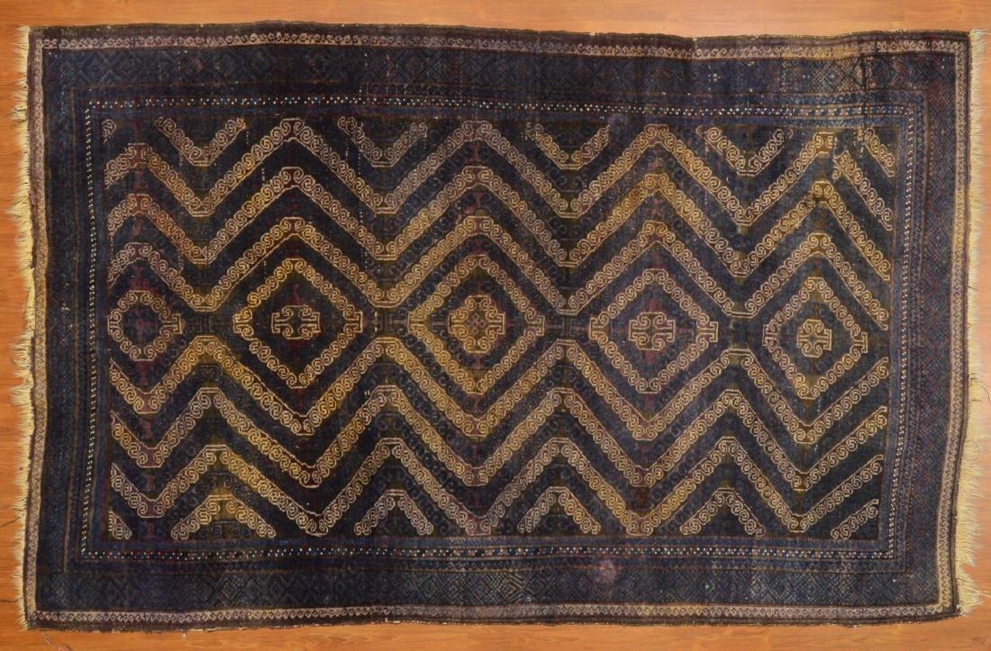 Antique Belouch rug, approx. 5.10 x 9.1