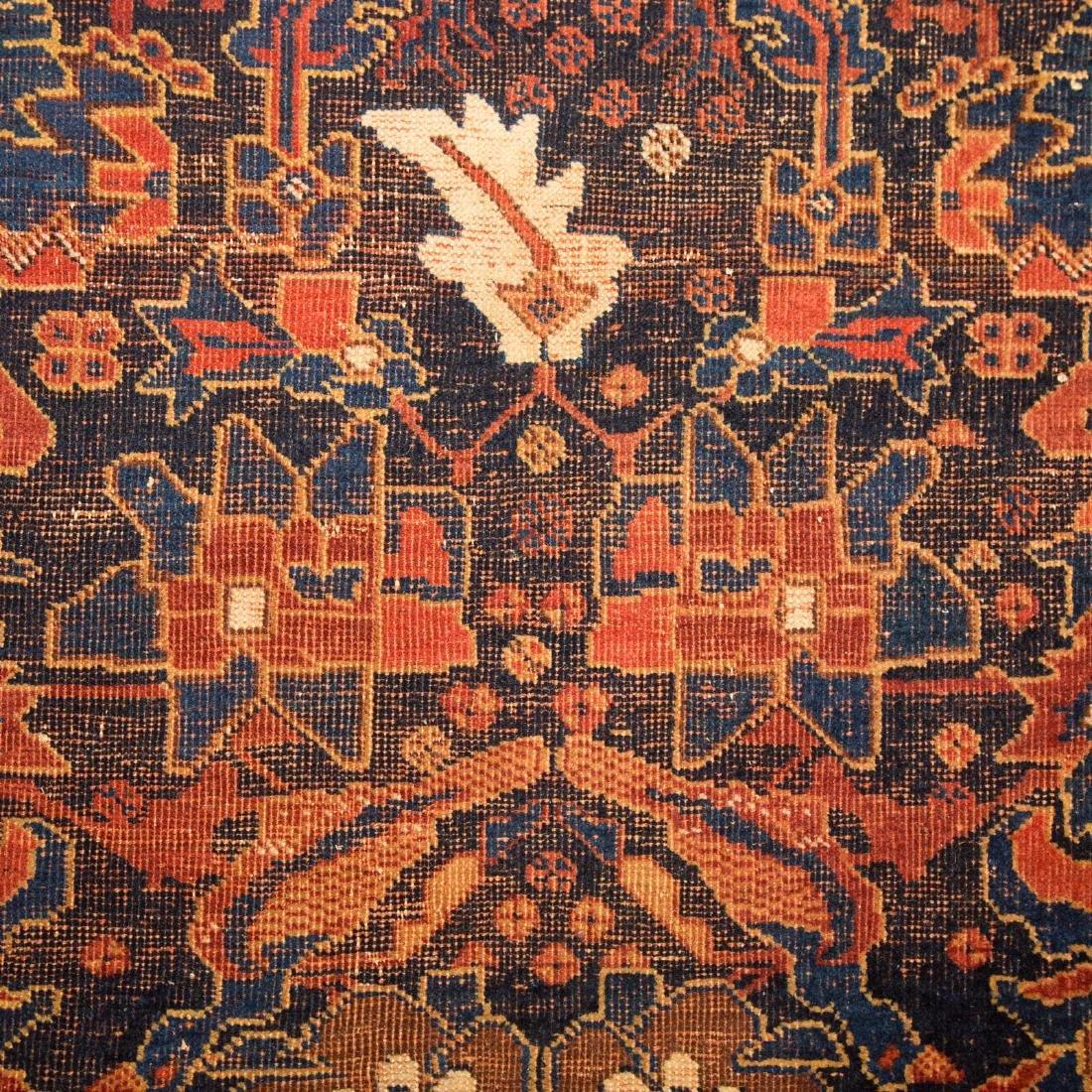 Antique Kashkai rug, approx. 7 x 12.6 - 5