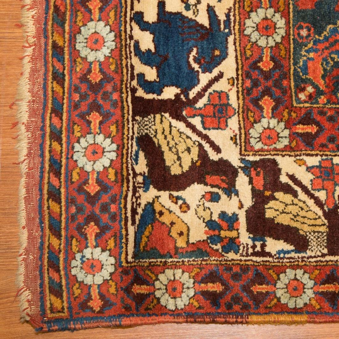 Antique Kashkai runner, approx. 3.10 x 12.4 - 2