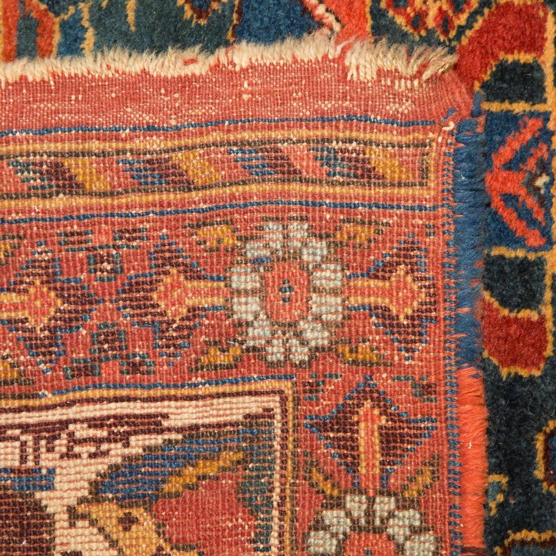 Antique Kashkai runner, approx. 3.10 x 12.4 - 3
