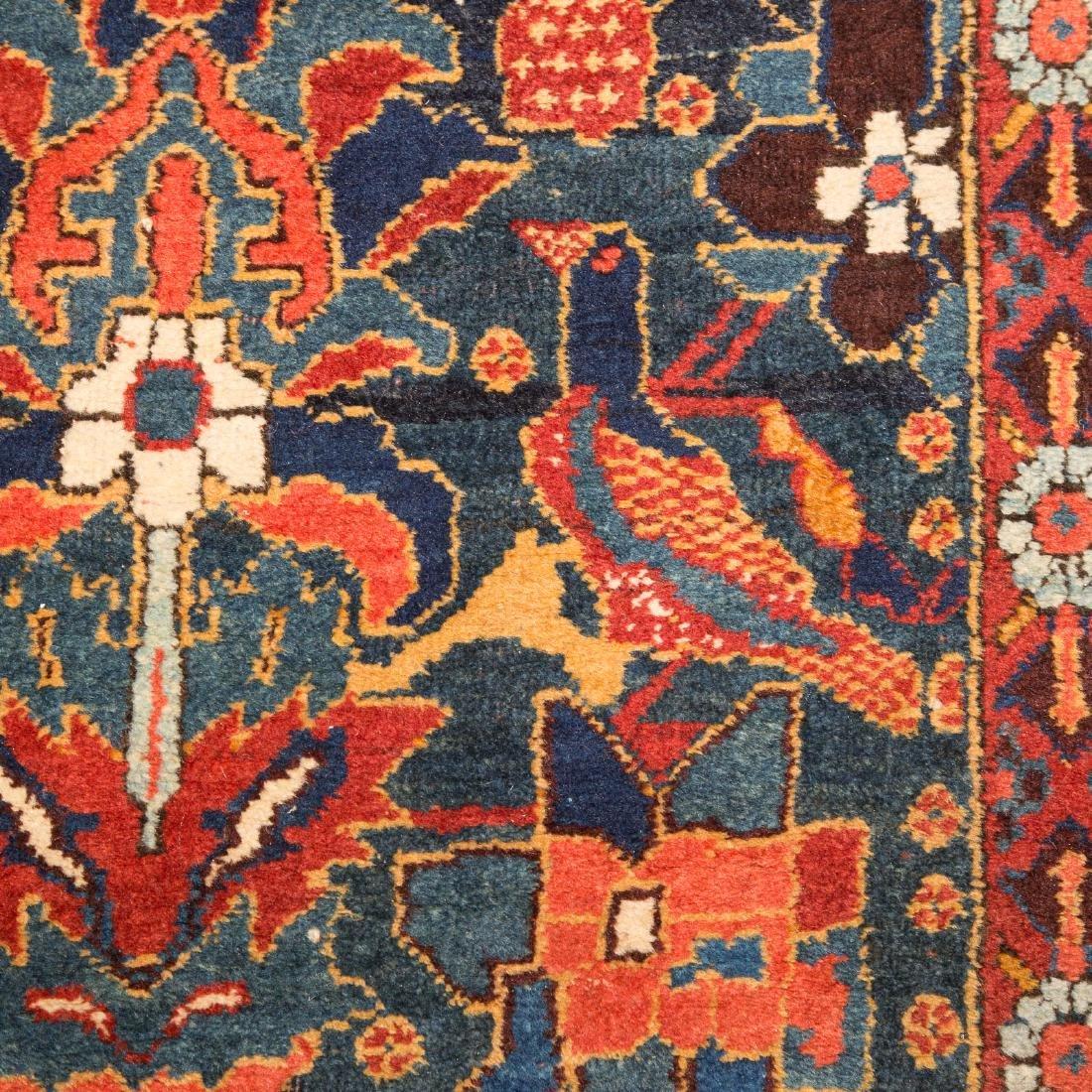 Antique Kashkai runner, approx. 3.10 x 12.4 - 4