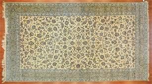 Persian Keshan carpet approx 10 x 18