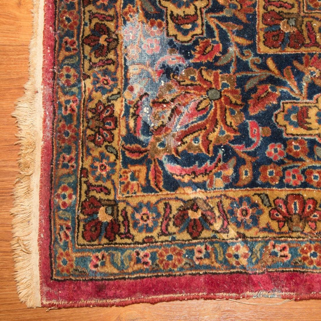 Antique Keshan carpet, approx. 8.9 x 11.11 - 2