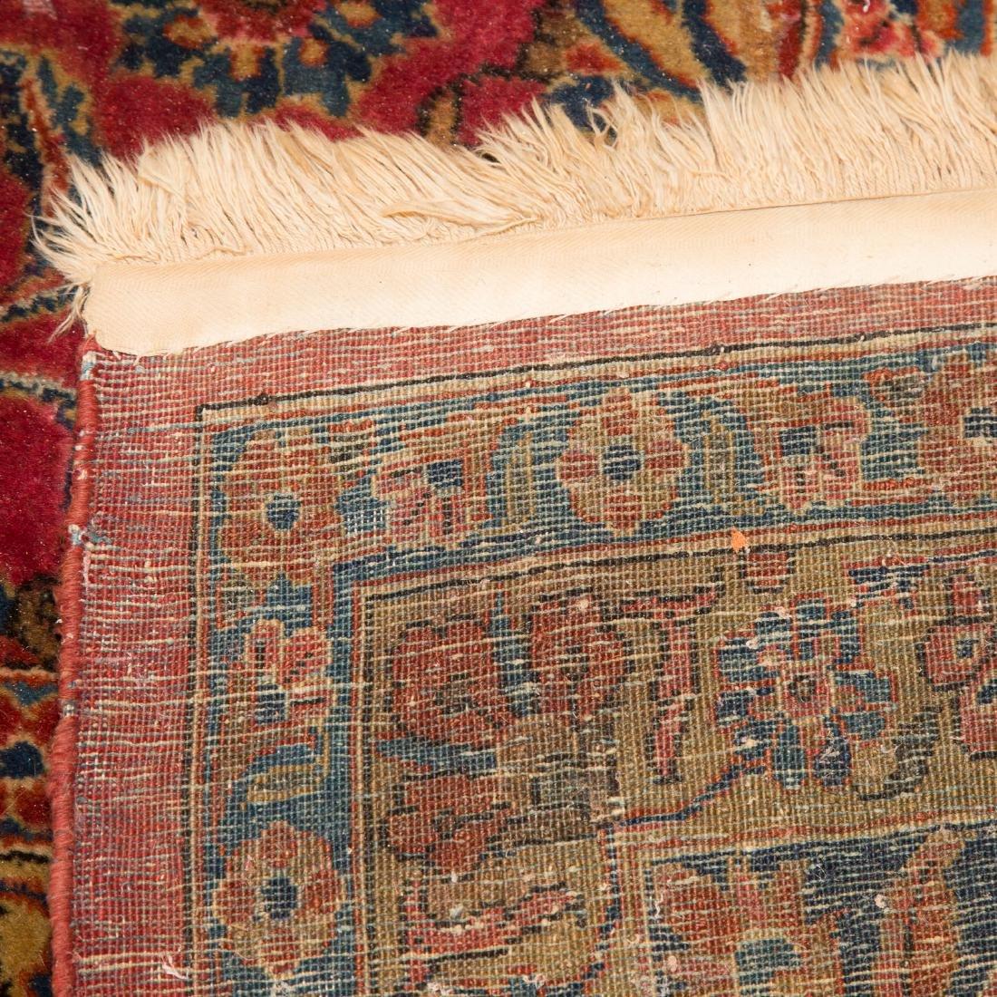 Antique Keshan carpet, approx. 8.9 x 11.11 - 3