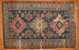 Antique Shirvan rug approx 35 x 53