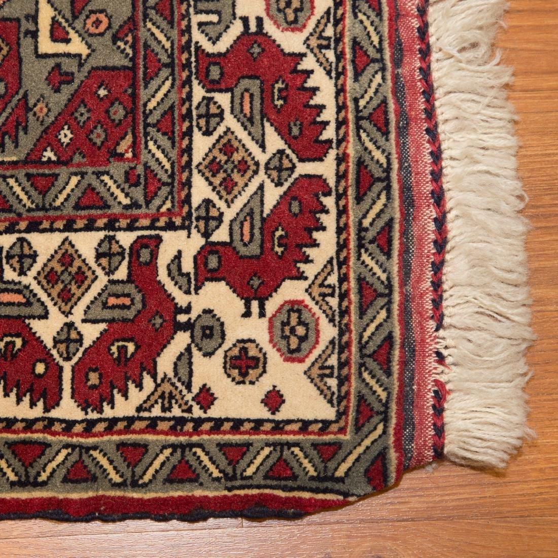 Persian Turkemon rug, approx. 3.7 x 4.3 - 2