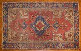 Antique Oushak rug, approx. 3.11 x 6.3