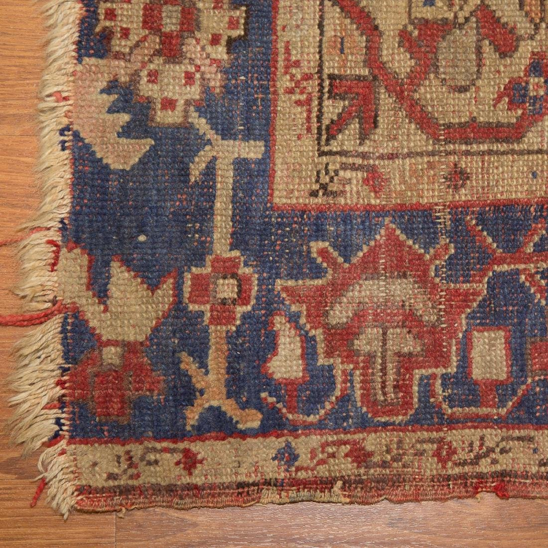 Antique Oushak rug, approx. 3.11 x 6.3 - 2