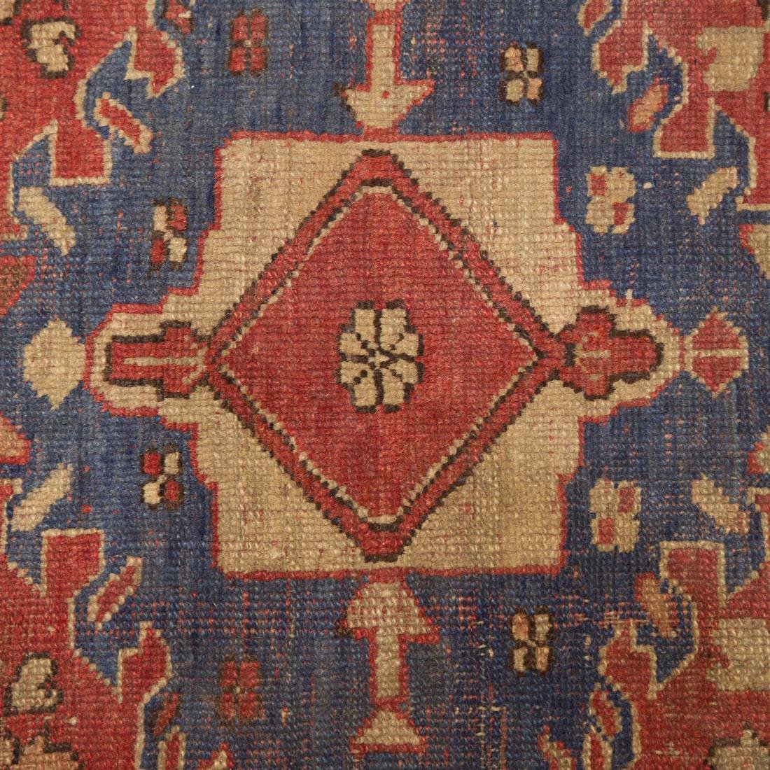 Antique Oushak rug, approx. 3.11 x 6.3 - 4