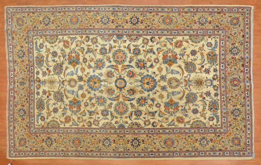 Persian Keshan rug, approx. 6.5 x 10.3