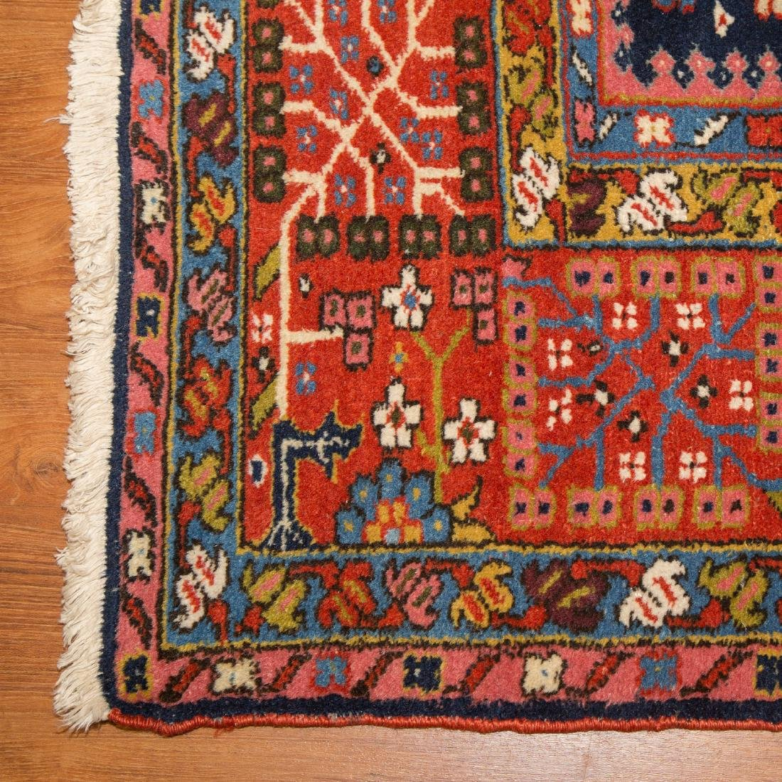 Antique Karaja Herez rug, approx. 8.5 x 10.1 - 2