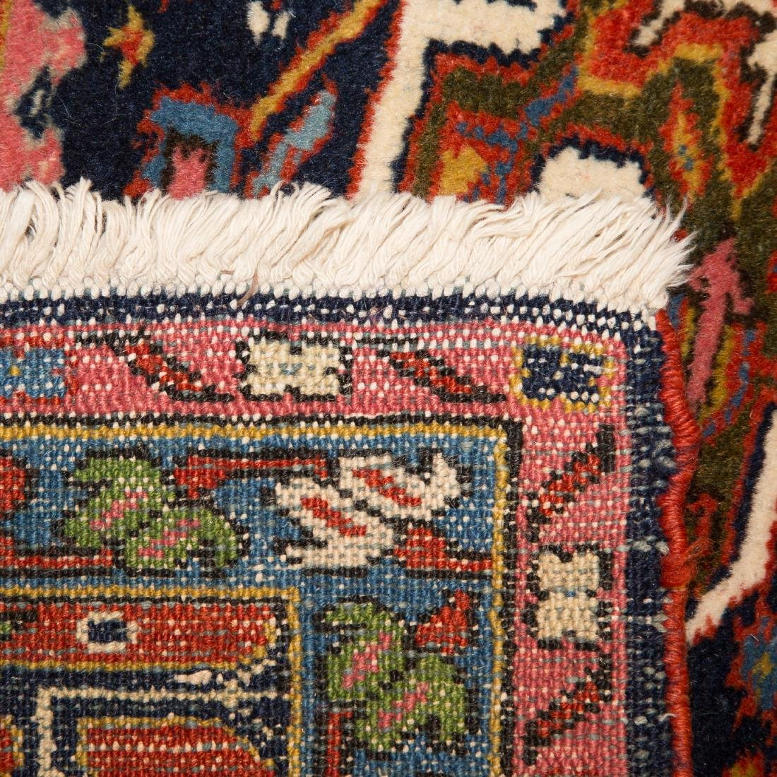 Antique Karaja Herez rug, approx. 8.5 x 10.1 - 3