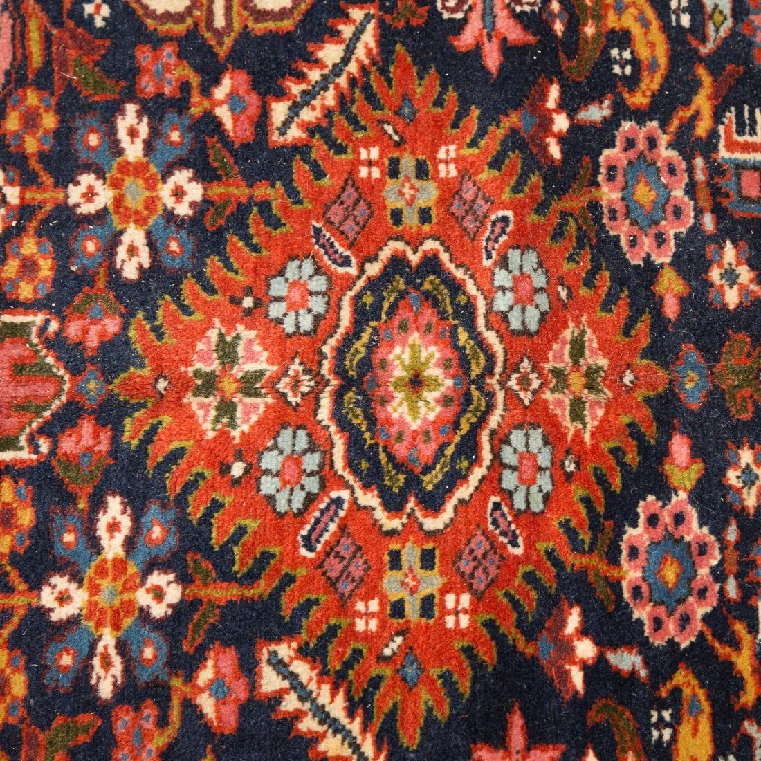 Antique Karaja Herez rug, approx. 8.5 x 10.1 - 4