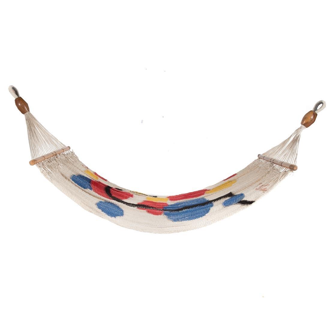 Alexander Calder. Floating Circles, hammock
