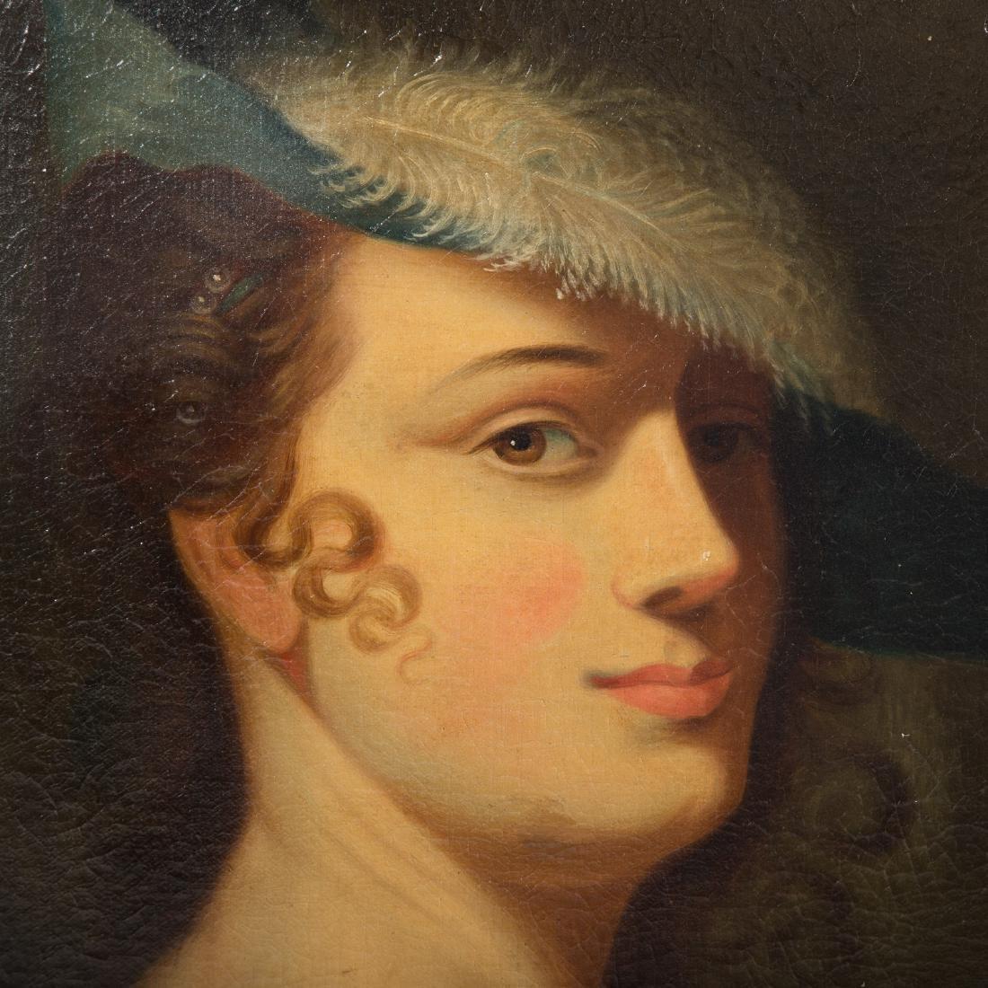 British School, c. 1800. Portrait of a Lady, oil - 2