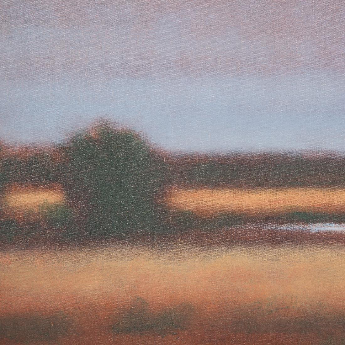 "Kevin Fitzgerald. ""Newark Pond,"" oil on canvas - 2"