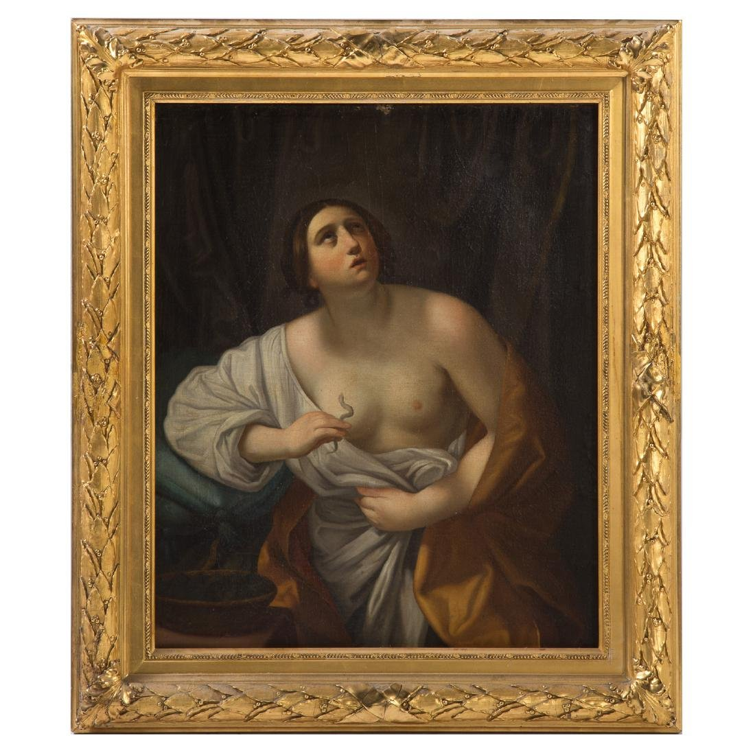 After Guido Reni. Death of Cleopatra, oil