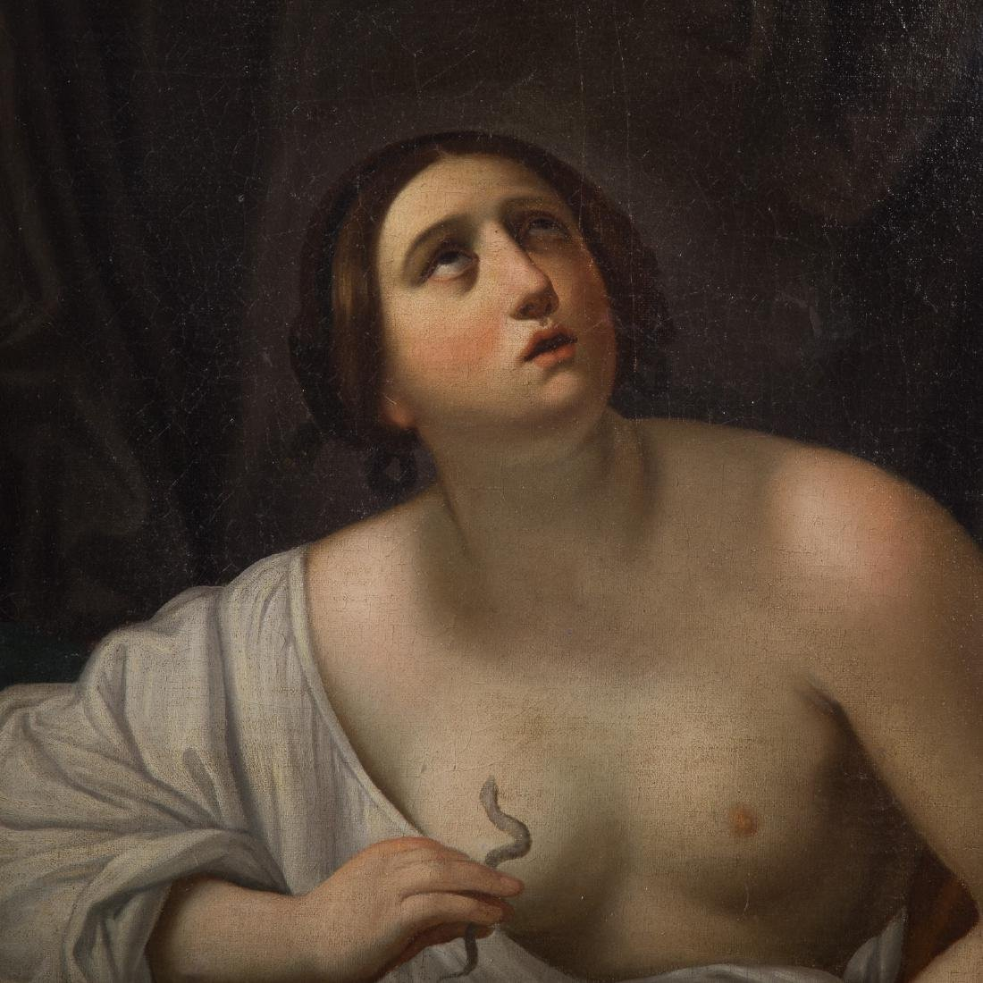 After Guido Reni. Death of Cleopatra, oil - 3